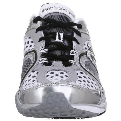 New Balance Mens MR805 Running Shoe White/Silver 2D2gRJO