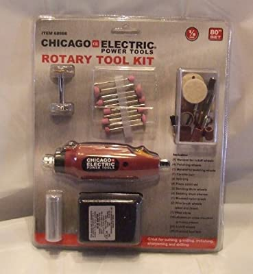 Maroon Rotary Tool Kit - 80 Pc