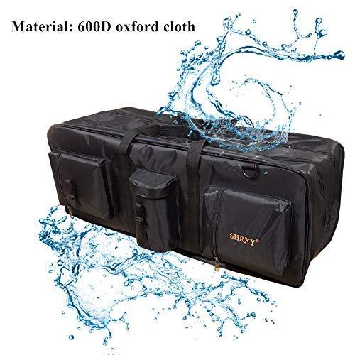 Super detesir Metal Detector Carry Bag Portable Waterproof Canvas Storage Bag Double-Layer Organizer Backpack for Metal Detecting