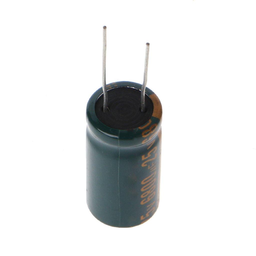 6800 uF Viesky Elektrolytkondensator 5 St/ück 25 V ESR hochfrequent