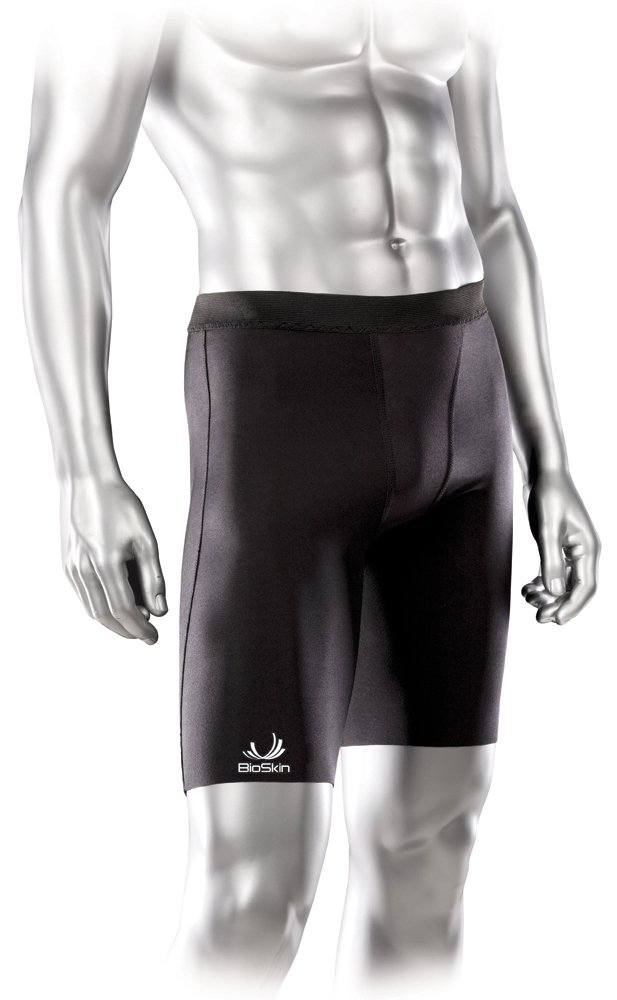Compression Shorts - Enhance Recovery and Performance. Relieve Pain from Groin, Hamstring, and Quad Injuries - by BioSkin (Small)