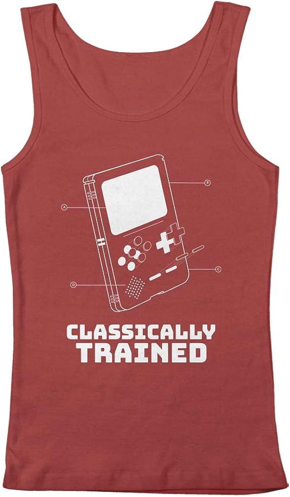 GEEK TEEZ Classically Trained Retro Blueprint Men's Tank Top