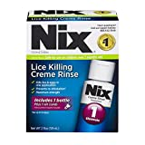 Nix Lice Killing Creme Rinse Plus Lice Removing Comb | Maximum Strength Creme Rinse | Kills Lice and Eggs While Preventing Re-Infestation | 2 Fluid Ounces