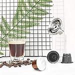 ACEHE-Convertitore-da-Vertuo-a-Nespresso-Adattatore-per-Capsule-di-caffe-per-Nespresso-Capsula-di-caffe-Riutilizzabile-Vertuoline-Trasferimento-in-Acciaio-Inossidabile-per-Filtro-Nespresso-Argento