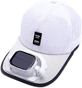 Enfriamiento del ventilador Sombrero de beisbol Carga dual USB solar al aire libre Sombra Protector solar Gorro de viaje deportivo, 5 colores: Amazon.es: Bricolaje y herramientas