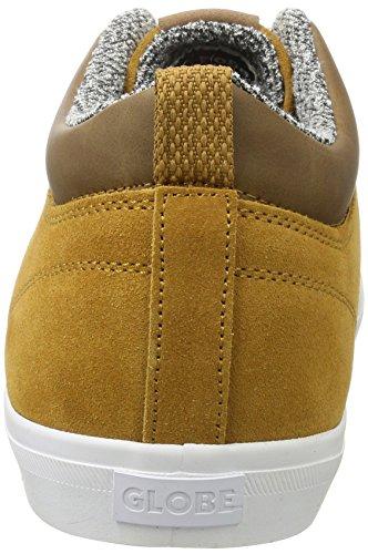 Fonc Adulte De caramel Brun Unisexe Globe Chukka Sneaker 7q10xS44w