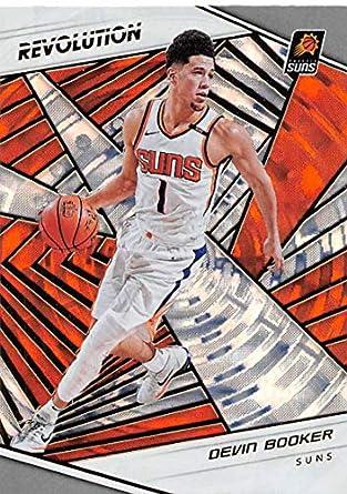2018-19 Panini Revolution Fractal Basketball  75 Devin Booker Phoenix Suns  Official NBA Trading ad35ad0d3