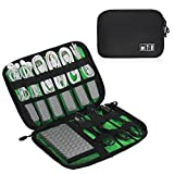 Universal Electronic Accessories Organizer Bag Case Waterproof Travel Gadget Bag For Various USB, Phone, Charger and Cable