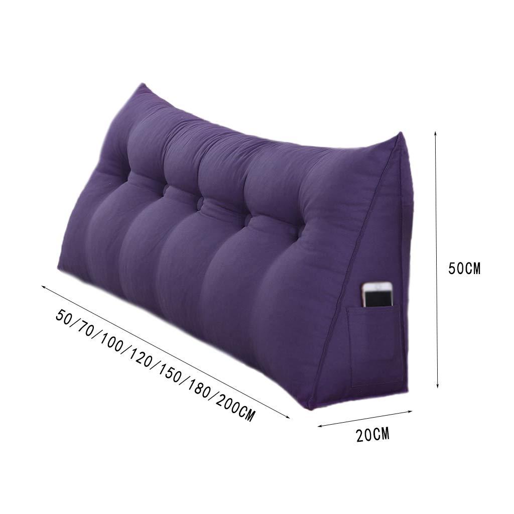 Amazon.com: CSQ Almohada de dormitorio doble almohada, sofá ...