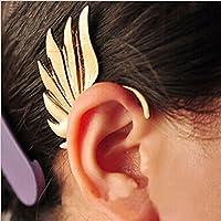 Sumanee Vintage Jewelry Men Women Wing Shape Punk Gothic Ear Cuff Clip Stud Earring