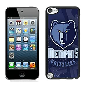 Popular And Unique Custom Designed Cover Case For iPod Touch 5th With Memphis Grizzlies 5 Black Phone Case