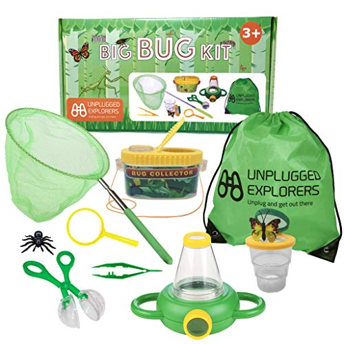 Unplugged Explorers 10 Piece Bug Kit (Green)