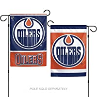 Edmonton Oilers Flag 12x18 Garden Style 2 Sided Special Order