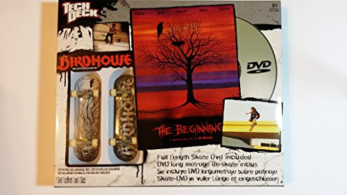 DVD de Skatehop Tech Deck con 2 tableros BirdHouse - Tony Hawk