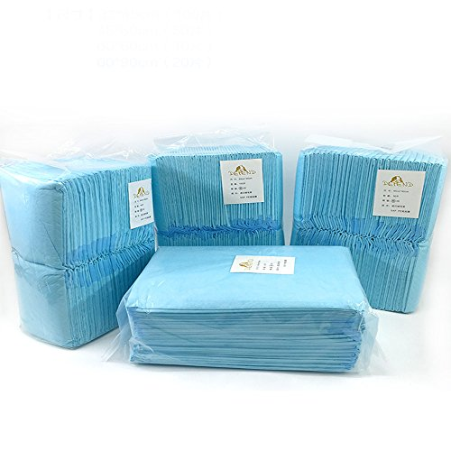 S-Lifeeling Disposable Puppy Pet Housebreaking Training Regular Super Absorbent Training Pads Wee Wee Dog Diapers