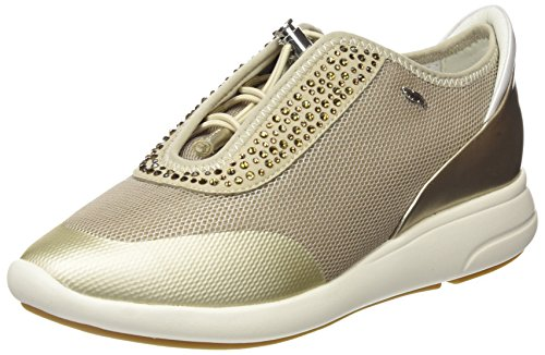 Ophira Femme D Geox Basses E Silver Sneakers 8O5wq4