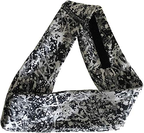 Lululemon Fly Away Tamer Headband II (Paint Splash Silver Drop Multi - Light Luon)