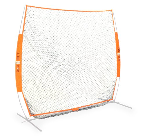 Bownet 7' x 7' Soft Toss Practice Net (Net Only) by Bownet