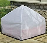 Large Plastic Garden Raised Bed Grow Bag Planter Plant Pot Cover Cloche Fleece (Raised Bed Bag + Fleece Cover)