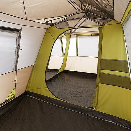 Amazon.com : Ozark Trail, 16u0027 X 16u0027 Instant Cabin Tent, Sleeps 12 Persons  In Green Color : Sports U0026 Outdoors