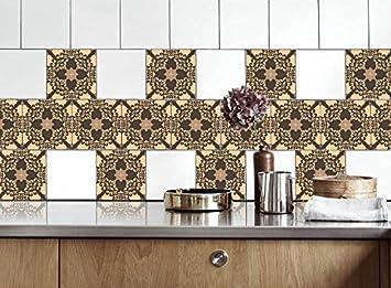 Life Decor Küche Fliesen Aufkleber Alte Mozaics Vinyl Film für ...