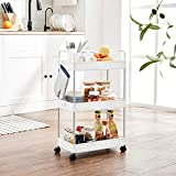 SONGMICS Rolling Cart, 3-Tier Storage