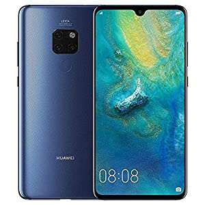 Huawei Mate 20 HMA-L29 128GB+4GB – Factory Unlocked International Version – GSM ONLY, NO CDMA – No Warranty in The USA (Midnight Blue)