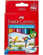 Faber-Castell 114461 Short Watercolor Pencils - Set of 12