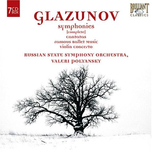 Glazunov: Symphonies & Other Orchestral Works by Brilliant Classics
