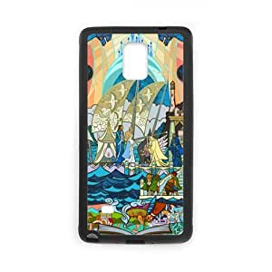Super Artswow Samsung Galaxy Note4 The Lord of the Ring Cartoon 2 Custom Plastic TPU Cell Phone Case