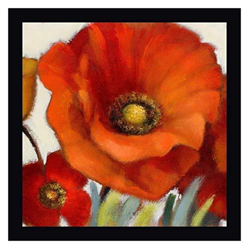 Poppy Splendor Square 1(Closeup) by Lanie Loreth - 27