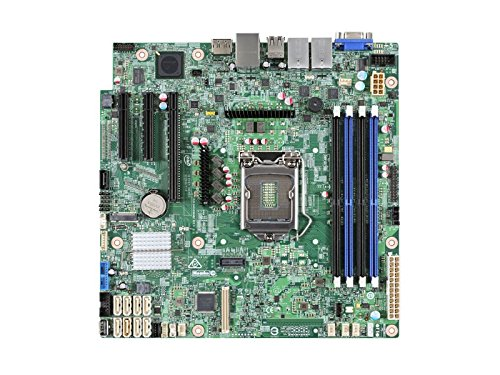 Intel S1200SPLR Server Motherboard - Intel C236 Chipset - 1 Pack - Micro ATX ()