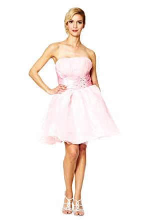 Short Layered Cocktail Dresses Bridesmaids Prom Dresses Elegant Classic Empire Lace back Eveing Dress Puff Ladies