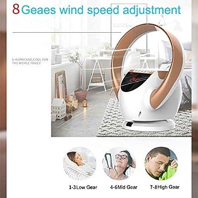 Ventilador de torre Oscilación, Ventiladores por evaporación, ventilador de aire sin aspas, ventilador de escritorio pequeño Ventilador de aire acondicionado montado ...