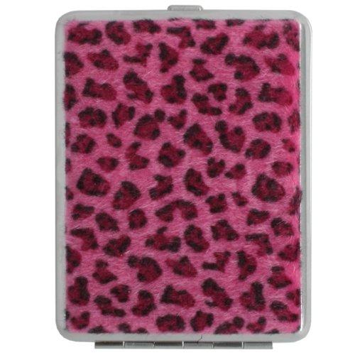 츠보타 펄(TSUBOTA PEARL) 담배 케이스 킹 사이즈/쇼트(85mm) 16개 수납 레오 파 드 표범무늬 핑크 3-21890-25