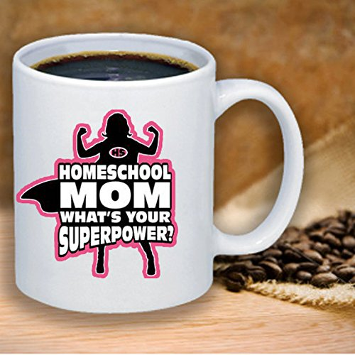 Homeschool Mom Ceramic Coffee Mug Great Mothers Day