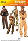 Simplicity Sewing Pattern 2853 Adult Costumes, A (XS-S-M-L-XL)