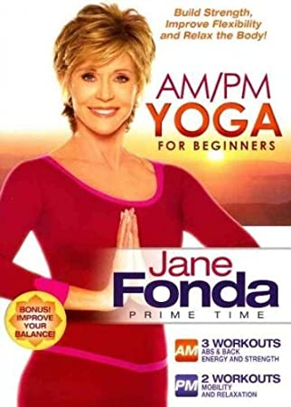 JANE FONDA-AM/PM YOGA FOR BEGINNERS (DVD) (WS/ENG/2.0 DOL ...
