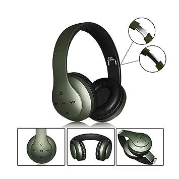 Auricular inalámbrico Bluetooth, reducción de Ruido estéreo ...