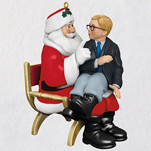 Hallmark A Christmas Story Ho! Ho! Ho! Ornament With Sound keepsake-ornaments Movies & TV,Santa Claus by Hallmark