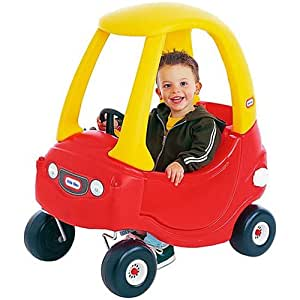 Little Tikes Red and Yellow Cozy Coupe II Ride On Car