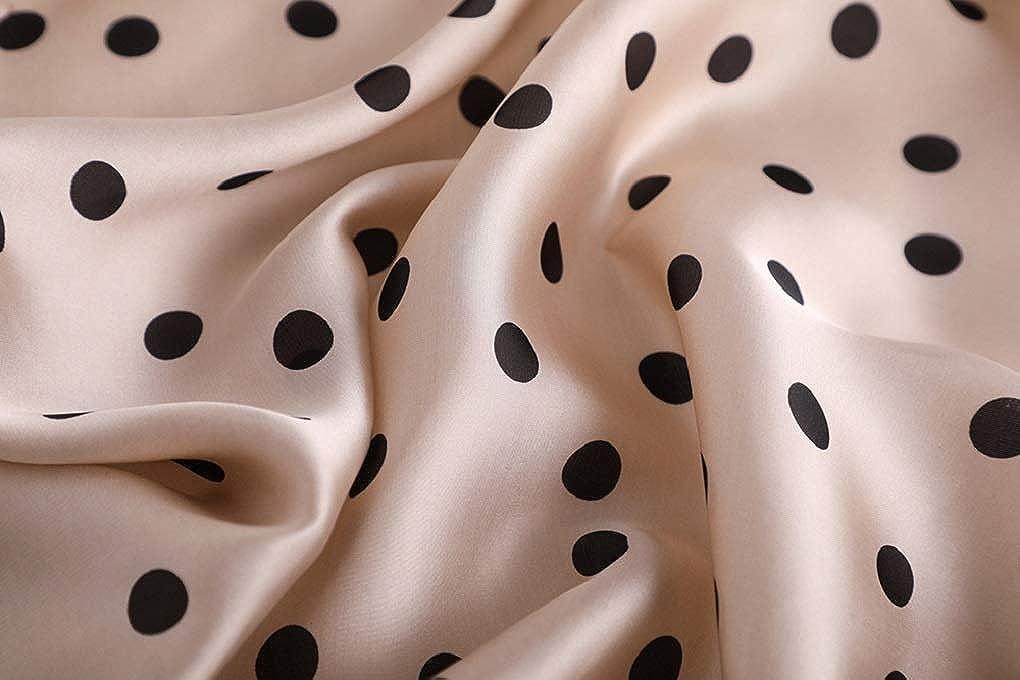 70 cm DEBAIJIA Dame Silk Schal Square frauen Hochwertige Satin Mode WeicheElegante D/ünne LadyTurban Einkaufstasche B/üro Dekoration F/ür Walking Strand Party 70