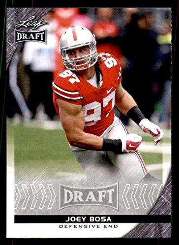 Cards Trading Scrapbook - 2016 Leaf Draft Football #41 Joey Bosa