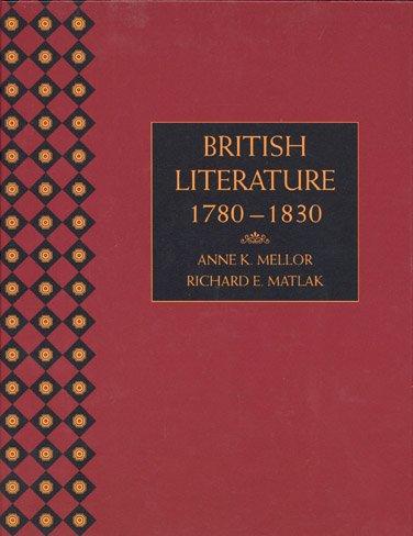 British Literature, 1780-1830