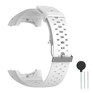 selección premium Calidad superior selección mundial de Cyeeson Polar M400/M430 Correa Reloj Silicona Blanda Ajustable Banda de  Pulsera de Gel Brazalete de Repuesto para Polar M400/M430