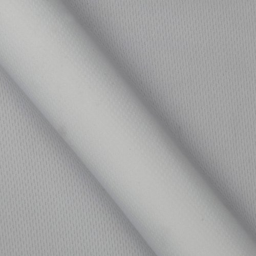 (Textile Creations Athletic Mesh Knit White Fabric By The Yard)