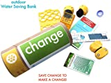 Outdoor Water Bank Saving Eco-kit| Change | Rain Gauge, Hose Repair & Water Conservation Tips
