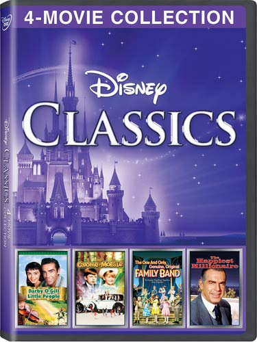 Disney 4-Movie Collection: Classics (Gnome-Mobile / Darby O'gill & Little People / One & Only Genuine Family / Happiest - Mobile Entertainment