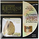 MMS Flipper Coin 50 Cent Euro (with DVD) (E0035) by Tango - Trick by M & M's