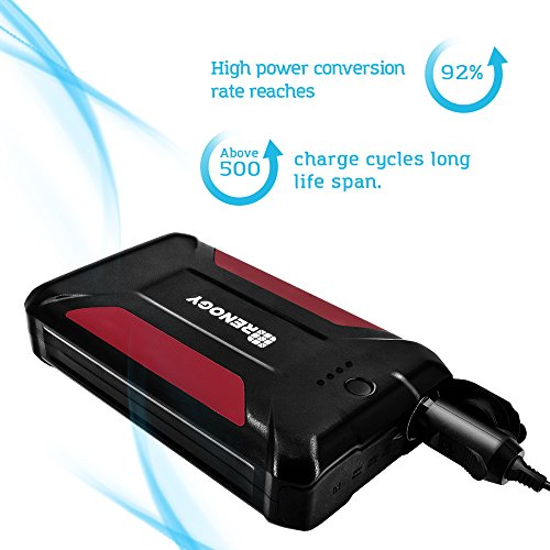Renogy 38000mAh Portable Charger Power Bank with 3 USB Ports Supply for Outdoor Activities Hiking Road Trip and Travel by Renogy (Image #3)
